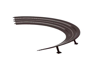 Carrera 20020576 Steilwandkurve 3/30° inkl. Stützen