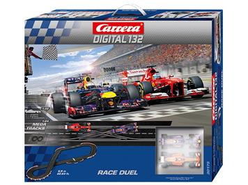 "Carrera 30175 D132 Race Duel ""Red Bull RB9 + Ferrari F138"" 6.9 m"