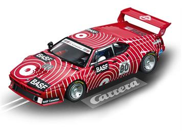 "Carrera D124 20023821 BMW M1 Procar ""BASF No. 80"", 1980"
