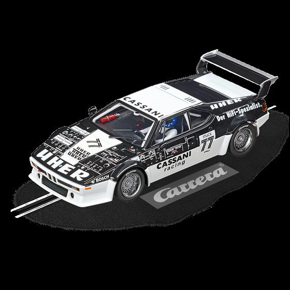 """Carrera D132 20030886 BMW M1 Procar """"Cassani Racing, No.77"""", 1979"""
