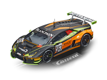 "Carrera D132 20030914 Lamborghini Huracán ""Orange1 FFF Racing Team, No.563"""
