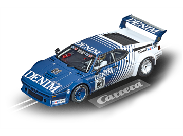 "Carrera D132 20030925 BMW M1 Procar ""Denim, No.81"", 1980"