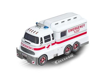 Carrera D132 20030943 Ambulance mit Figur