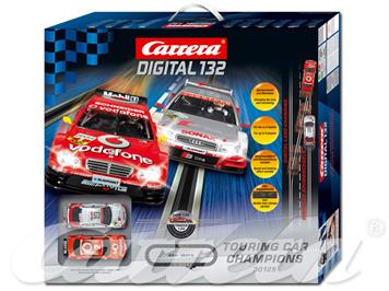 Carrera D132 30125 Turing Car Champions Start-Set Digital 132