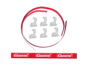 Carrera Go! 20088305 Leitplankenset weiss (Ersatz für: 88110)