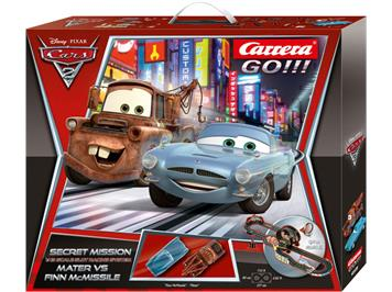 "Carrera Go! Disney/Pixar Cars 2 ""Secret Mission"", 6,2 Meter"