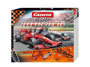 Carrera Go! Formula Power Ferrari & Mc Laren, 5,3 Meter