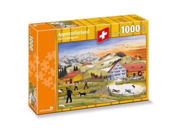 """Carta.Media 7263 Puzzle Appenzellerland """"Isch Früehligsziit"""""""