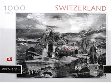 Decollage/Ravensburger PZSW01 Puzzle Switzerland 1000-teilig