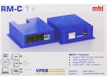 DINAMO RM-C 1+ Kontroller, Analog- und Digital-Modelleisenbahnsteuerung