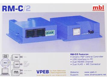 DINAMO RM-C 2 Kontroller mit 2 Systembusse, Analog- und Digital-Modelleisenbahnsteuerung
