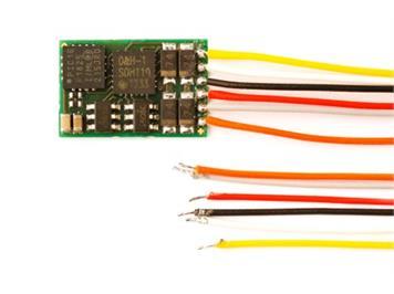 Doehler + Haass (093) DH10-3 Fahrzeugdecoder an Litzen (2. Generation)