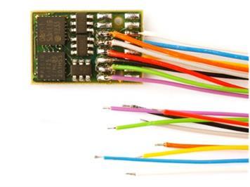 Doehler + Haass (109) DH16A-3 Fahrzeugdecoder an Litzen