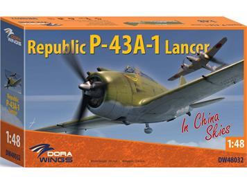 Dora Wings DW48032 Republic P-43A-1 Lancer, Massstab 1:48