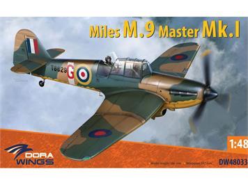 Dora Wings DW48033 Miles M.9 Master I, Massstab 1:48