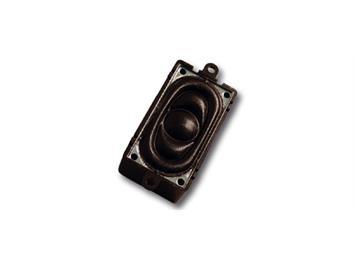 ESU 50334 Lautsprecher 20mm x 40mm, rechteckig, 4 Ohm, 1-2 Watt, mit Schallkapsel