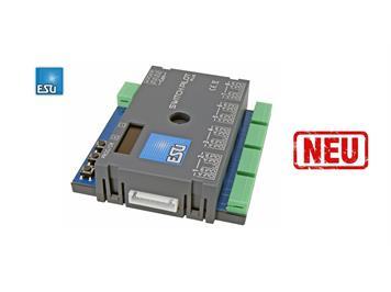 ESU 51831 SwitchPilot 3 Plus, 8-fach Magnetartikeldecoder, DCC/MM, OLED, updatefähig