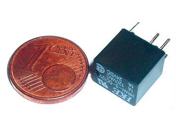 ESU 51963 Miniatur-Schaltrelais 24 Volt, 1 Ampere