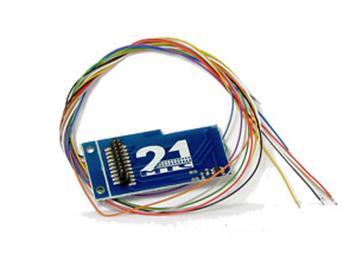 ESU 51968 21pol. MTC Adapterplatine 2, 6090x Bauform