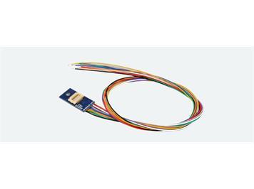 ESU 51999 Adapterplatine Next18 für 6 Ausgänge, Lötkontakten und angelöteten Kabeln