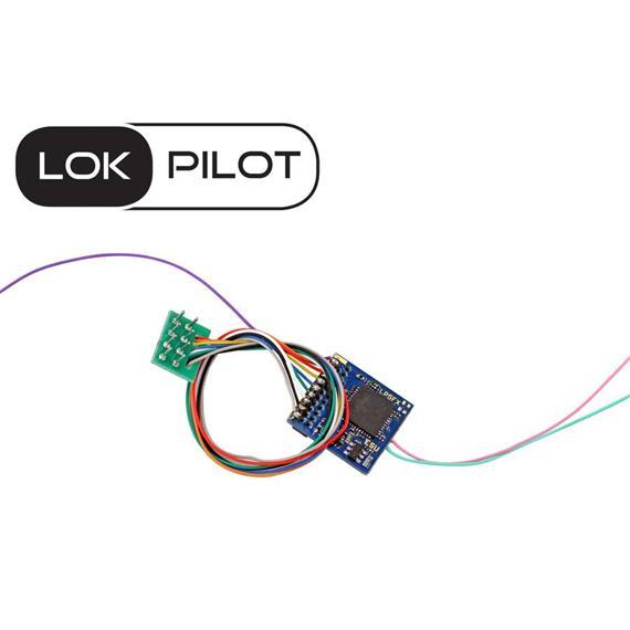 ESU 59220 LokPilot 5 Fx DCC, 8-pin, NEM652 , H0, 0