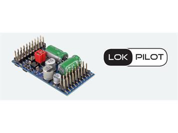 ESU 59315 LokPilot 5 L DCC/MM/SX/M4, Stiftleiste mit Adapter, Spurweite 0, G, I