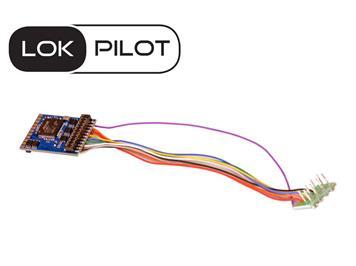 ESU 59610 LokPilot V5.0, 8polig, DCC/SX/MM/M4, Quadprotokoll, H0, 0