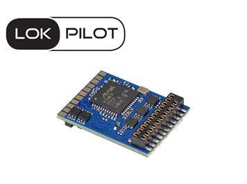 ESU 59619 LokPilot V5.0, 21MTC NEM660, DCC/SX/MM/M4, Quadprotokoll, H0, 0