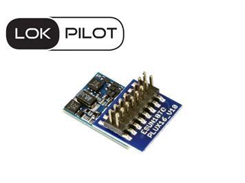 ESU 59814 LokPilot 5 micro DCC/MM/SX/M4, PluX16, Spurweite N, TT