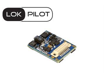 ESU 59818 LokPilot 5 micro DCC/MM/SX/M4, Next18, Spurweite N, TT