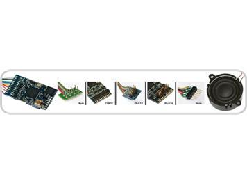 ESU 62403 Loksound mfx V3.5, mit 8-poliger NEM-Schnittstelle.