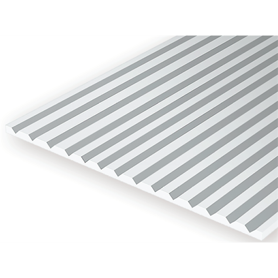 Evergreen 2080 Strukturplatte, 0,5x150x300 mm. Raster 2,00 mm, 1 Stück