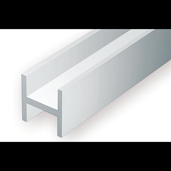 Evergreen 284 H-Profil, 350x3,2x2,9 mm - 1/8, 3 Stück