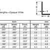 Evergreen 294 Winkelprofil, 350x3,2x3,2 mm,3 Stück | Bild 3