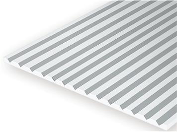 Evergreen 4030 Strukturplatte, 1x150x300 mm.Raster 0,75 mm, 1 Stück