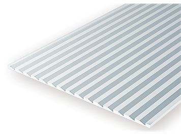 Evergreen 4109 Kunststoffplatte, 1x150x300 mm, Nutbreite 2,7 mm, 1 Stück