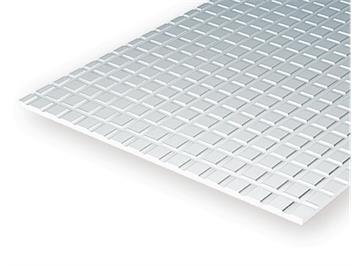 Evergreen 4507 Gehwegplatten, 1x150x300 mm, Raster 12,7 mm, 1 Stück