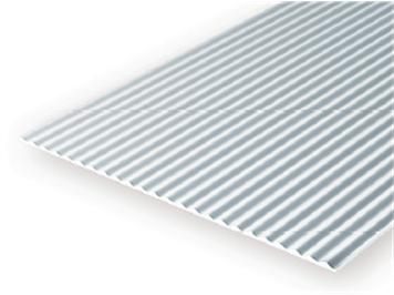 Evergreen 4529 Wellblech , 1x150x300 mm, Raster 2,50 mm, 1 Stück