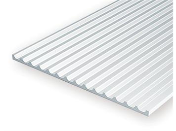 Evergreen 4542 Strukturplatte, 1x150x300 mm,Raster 1,8 mm, 1 Stück