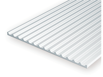 Evergreen 4544 Strukturplatte, 1x150x300 mm,Raster 3,2 mm, 1 Stück