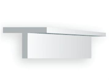Evergreen 763 T-Profil, 35 mm lang, Höhe/Breite 1,8 mm, 4 Stück