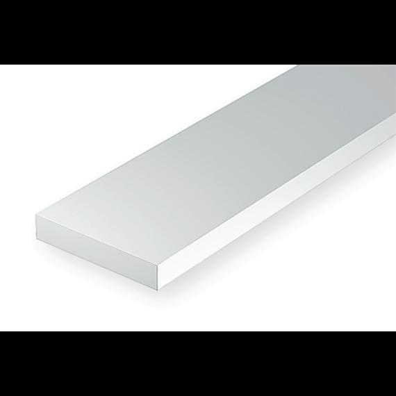 Evergreen 8412 Maßstab 1:87: Leisten, 350x1,1x3,4 mm, 10 Stück