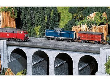 Faller 120477 Viadukt Oberteil gerade