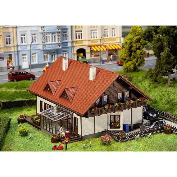 Faller 131549 Doppelhaus Moosgrund, H0 1:87