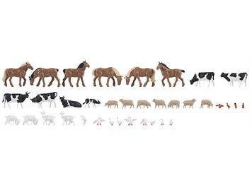 Faller 150938 Tiere auf dem Bauernhof (36)