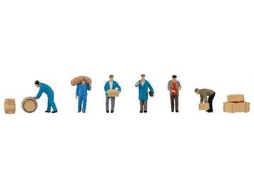 Faller 151609 Speditionsarbeiter mit Paketen, H0 (1:87)