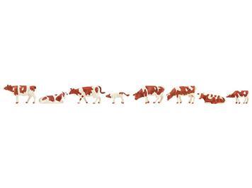 Faller 151903 Kühe braun gefleckt H0