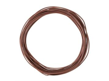 Faller 163788 Litze 0,04 mm², braun, 10 m