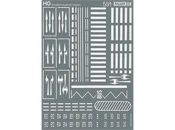 Faller 180536 Strassenmarkierungen HO