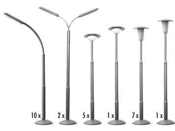 Faller 180538 Strassenlampen-Set (Attrappen) HO